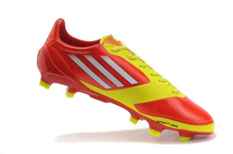 adidas f50 rouge et jaune