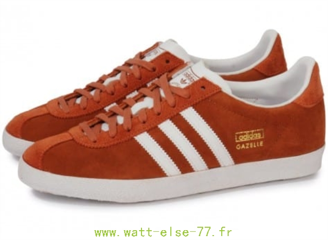 adidas gazelle homme noir orange