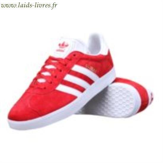 gazelle adidas rouge femme