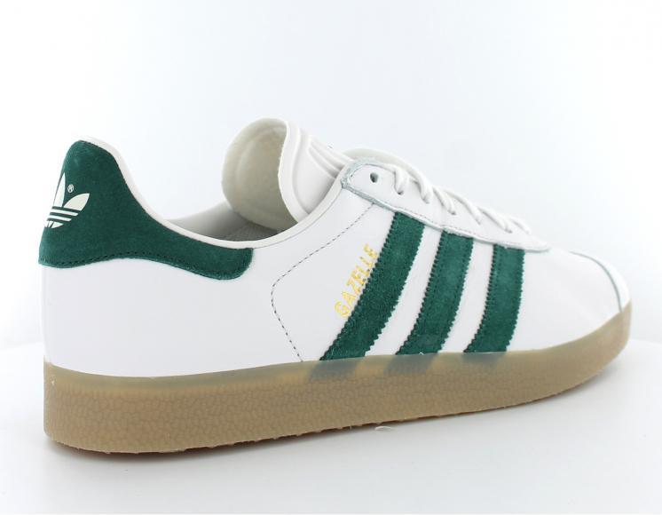 adidas gazelle blanche et verte