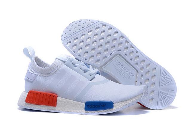 adidas nmd blanche rouge bleu