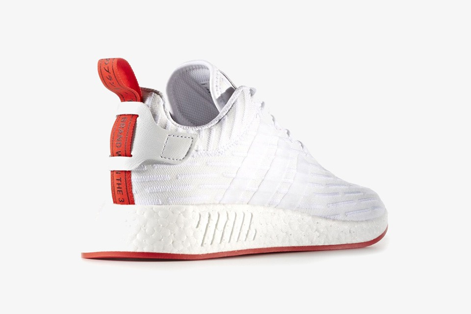 adidas nmd blanche et rouge