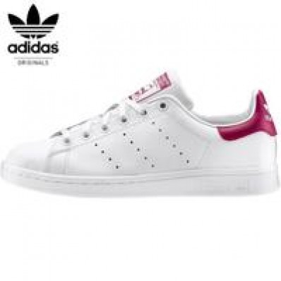 adidas stan smith femme blanche et rose