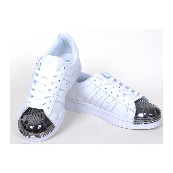 basket adidas superstar femme noir et blanche