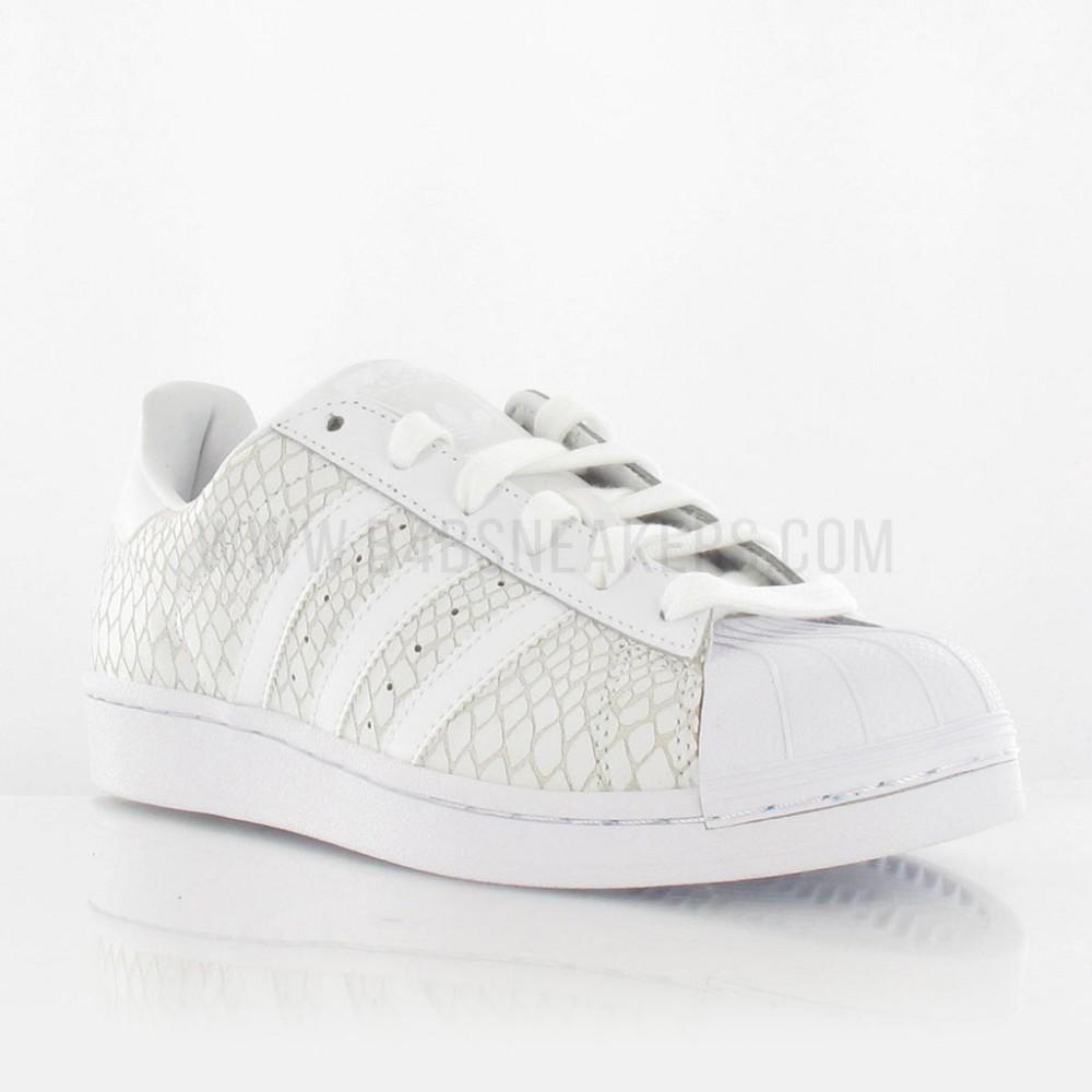 basket adidas superstar blanche femme