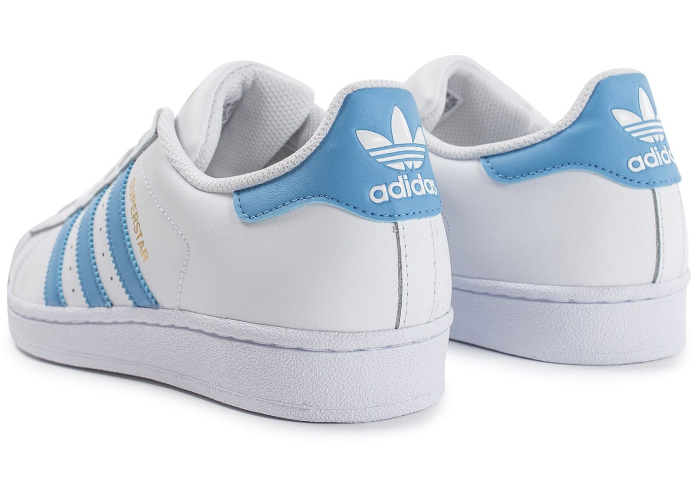 adidas superstar bleu ciel pas cher