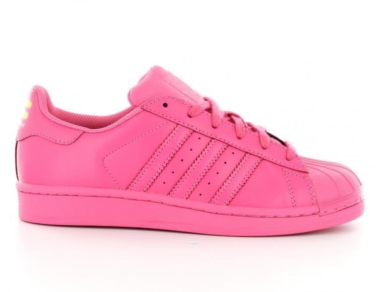 adidas femme superstar rose