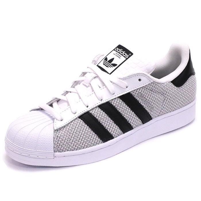adidas superstar noir et grise