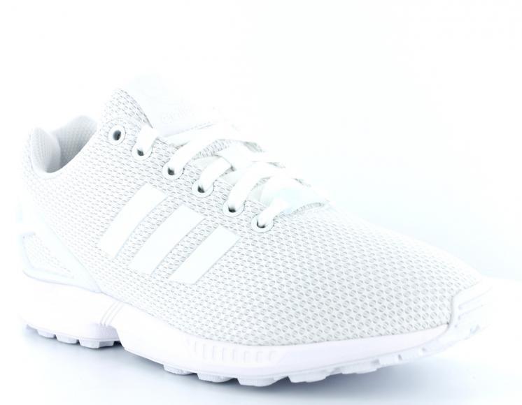 adidas zx flux blanche
