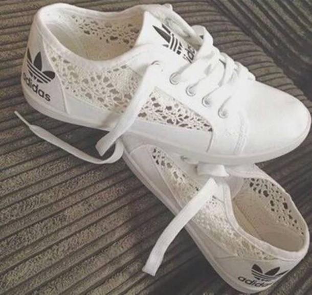 chaussure adidas femme tissu