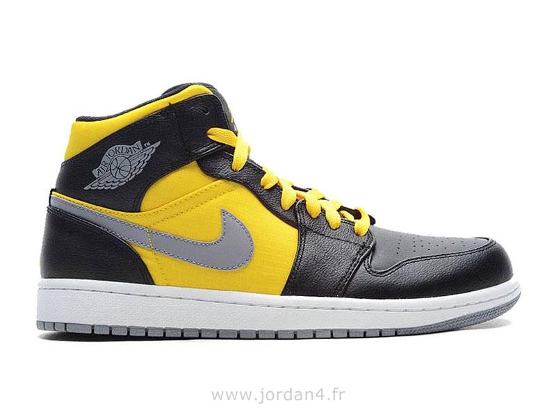 air jordan 1 mid bg jaune