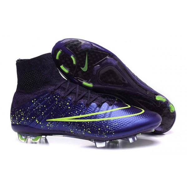 chaussure de football nike montante