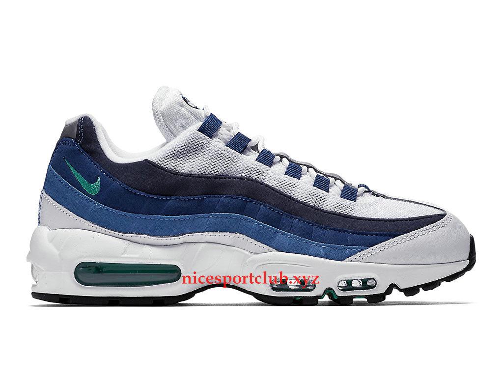 nike air max 95 bleu blanche
