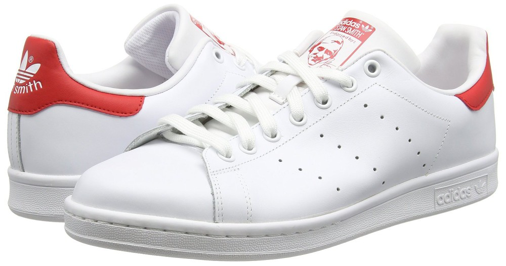 adidas stan smith rouge et blanc off 63% -